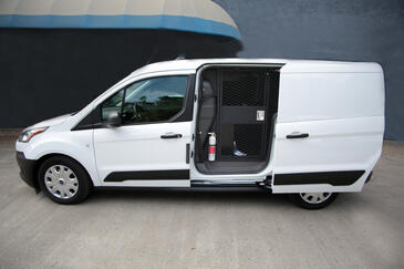 Ford Transit for secure transport