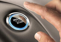 finger about to press invest start button