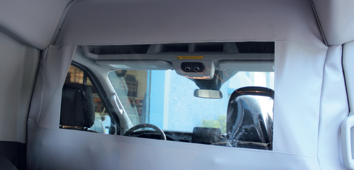 Covid barrier for Ford Transit